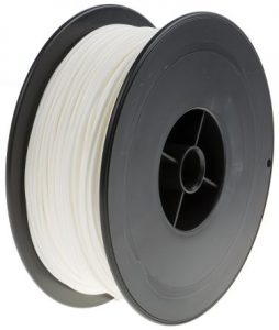 White PLA 3D Printer Filament