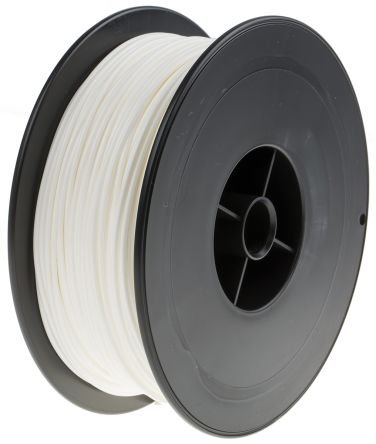 White PLA 3D Printer Filament