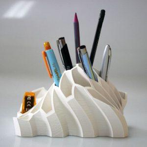 3d printing design - pen holder
