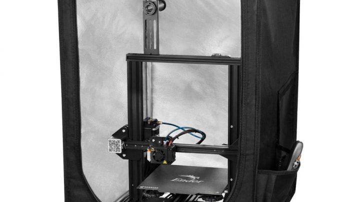 Enclosure for a 3d printer