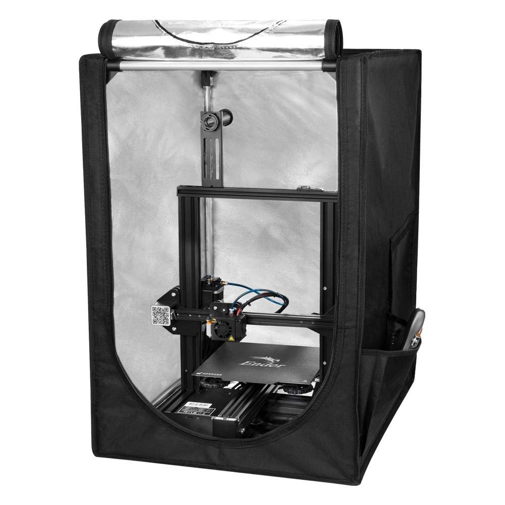 Creality 3D Printer Enclosure with Constant Temperature, Fireproof Waterproof Dustproof Protective Cover