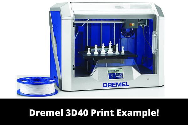 Dremel 3D40 Print Example!