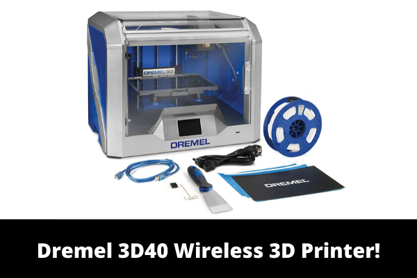 Dremel 3D40 Wireless 3D Printer!