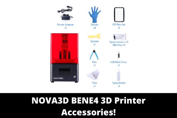 NOVA3D BENE4 3D Printer Accessories!