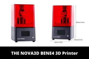 THE NOVA3D BENE4 3D Printer