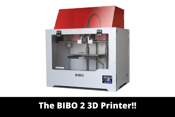 The BIBO 2 3D Printer!!