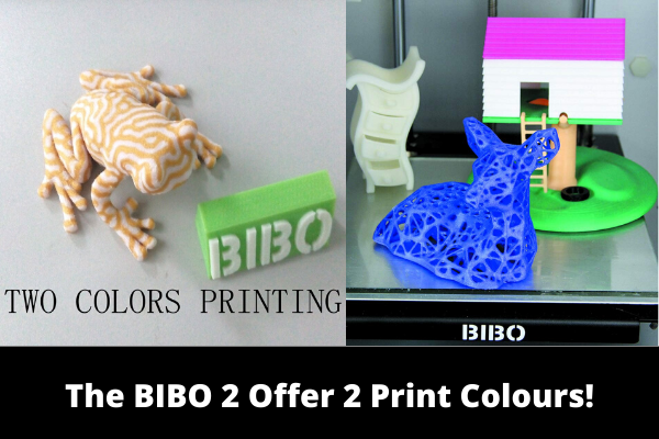 The BIBO 2 Offer 2 Print Colours!