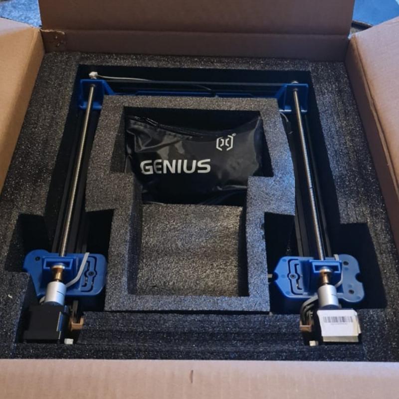 3d artillery 3d printer - foam packaged