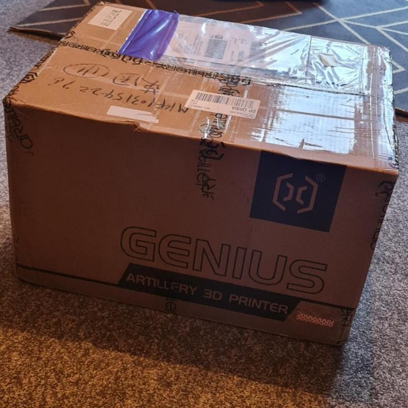 3d artillery box - packaged